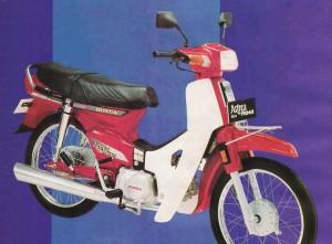 Honda Astrea Prima C100M, 1989-1992