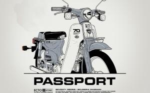 HONDA CUB PASSPORT: Από τον Gianmarco Magnani