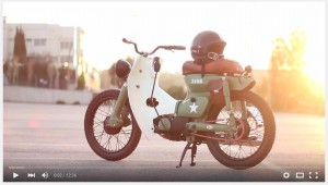 VIDEO: Honda C 50 Military, Made In Greece