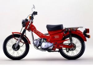 """ΘΡΥΛΙΚΑ ΠΑΠΙΑ: Honda CT 110: Ένα παπί που το έλεγαν """"Postie"""""""