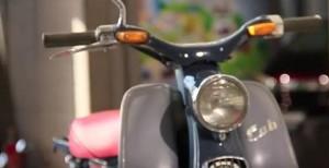 VIDEO:  O πατριάρχης! Honda C100 Super Cub