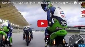 VIDEO: Οδηγώντας παπιά σε πίστα του MotoGP