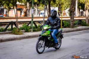 KAWASAKI KAZE 115 S, Super Test: Το