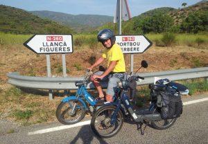 ΑΡΓΟ ΤΑΞΙΔΙ: 1.200 χιλιόμετρα με Ciao και Bravo 50!