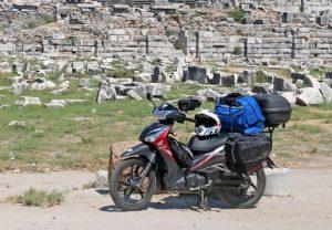 HONDA SUPRA-X 125 HELMIN: Ταξίδι στη Μικρά Ασία