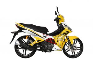 SYM SPORT RIDER 125i: Νέο, παρουσιάστηκε στη Μαλαισία