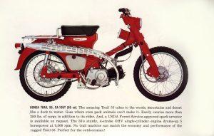 HONDA C100-C105 1960-1964: Παπιά στο χώμα... από το 1960