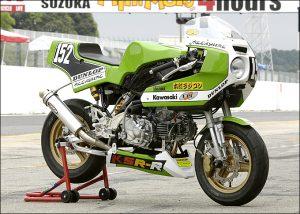 KAWASAKI KSR 110 R: Endurance Racer Replica KR 1000