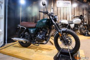 BRIXTON MOTORCYCLES: Παρούσα στην Έκθεση Μοτοσυκλέτας