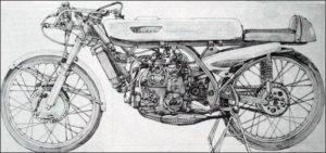 SUZUKI RP58, 1968: Το φοβερό 50άρι, με κινητήρα V-3!