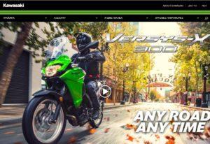 KAWASAKI: Νέα ιστοσελίδα στον αέρα
