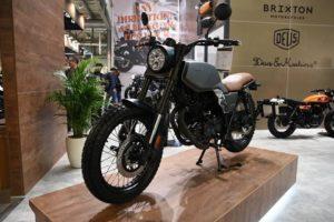 BRIXTON BX 250, 2018: Μετά το 125, έρχεται το 250