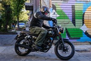 DAYTONA OLDTOWN 125i CBS, Super Test: Μαθήματα κλασικής μοτοσυκλέτας