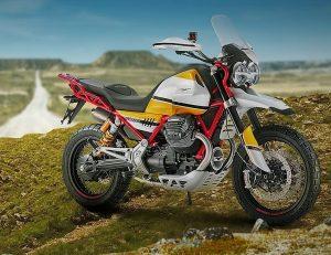 MOTO GUZZI V85, 2018: Επιστροφή στο χώμα