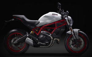 DUCATI Monster 797, White /Dark