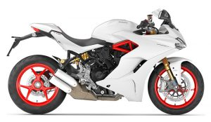 DUCATI Supersport S ,White