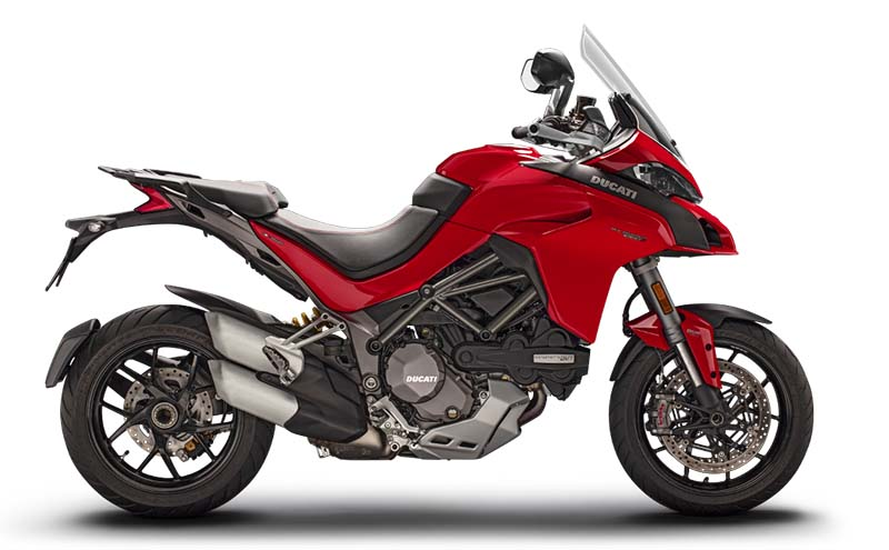 DUCATI Multistrada 1260 S, Red