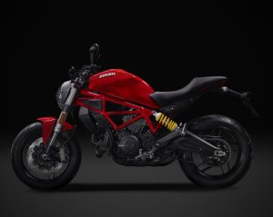 DUCATI Monster 797, Red