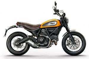 DUCATI Scrambler Classic Orange/White