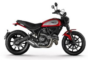DUCATI Scrambler Icon, Red