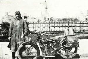 HUSQVARNA 550 V-2, 1925: Ταξίδι 14.000 km σε Αφρική και Μ. Ανατολή
