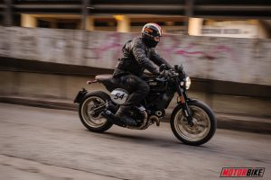 DUCATI SCRAMBLER CAFE RACER 800, Super Test: Rock & Roll '60s