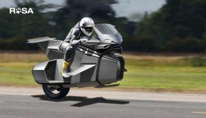 KIRBY ROSA: Η μοτοσυκλέτα που μισο-πετάει!