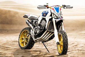 HONDA AFRICA FOUR: Μια Honda CB1000R για χώμα!