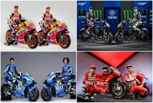 MOTOGP 2019: Τα χρώματα των ομάδων