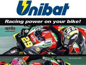 UNIBAT, ΜΠΑΤΑΡΙΕΣ: Συνεργασίες στα MotoGP