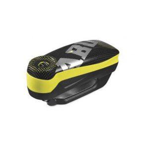 ABUS Detecto 7000 RS1 Pixel Yellow: Ηλεκτρονική κλειδαριά, με συναγερμό