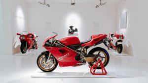 DUCATI: H προσωπική 916 του Massimo Tamburini στο Μουσείο Ducati!