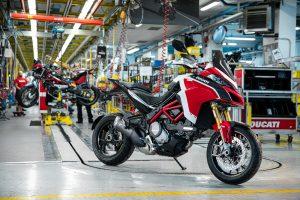 DUCATI: Η παραγωγή των Multistrada έφτασε τις 100.000!