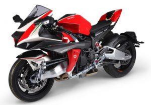 BIMOTA TESI H2, 2020: Με κινητήρα Kawasaki 300 ίππων