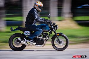 GEMINI SCRAMBLER 250, Super Test: Ρετρό και V-2