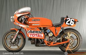 ΘΡΥΛΙΚΕΣ ΜΟΤΟΣΥΚΛΕΤΕΣ: Laverda 1000 V-6, 1978