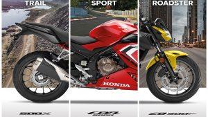 HONDA CB 500 X/R/F, 2021: Η δημοφιλής οικογένεια γίνεται Euro5