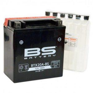 BS BATTERY: Μπαταρία BS-BTX20A-BS, για Honda XLV1000 Varadero (2004-2012)