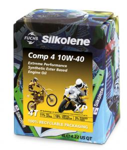 SILKOLENE Comp 4 10W-40XP: Συνθετικό λάδι τετράχρονων κινητήρων