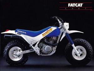 ΑΓΝΩΣΤΕΣ ΜΟΤΟΣΥΚΛΕΤΕΣ: Honda FatCat TR200 (1986-1987)