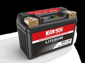 BS BATTERY: Νέες μπαταρίες μοτοσυκλέτας λιθίου Lithium LifEP04
