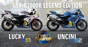 SUZUKI: Συλλεκτικά GSX-R1000R αποτίουν φόρο τιμής στους αγώνες
