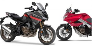 HONDA: Έρχονται Honda CB-Χ 1100 και NT-V 1100